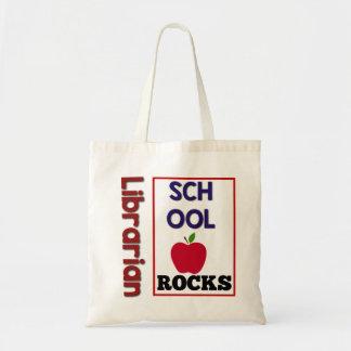 La escuela del bibliotecario oscila la bolsa de