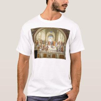La escuela del fresco de Atenas de Raffaello Playera