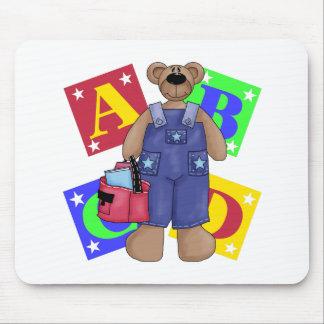 La escuela del oso bloquea el regalo alfombrillas de raton