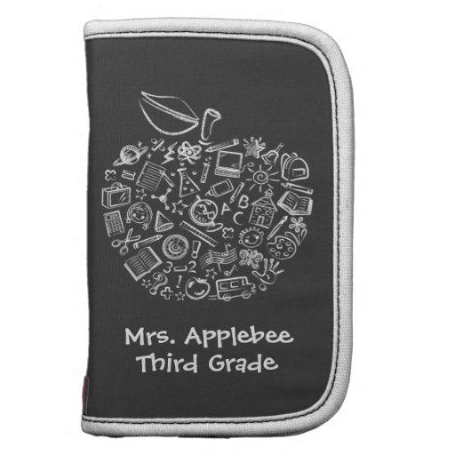 La escuela Doodles al planificador de Apple de los