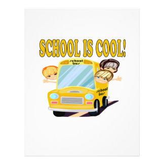"""La escuela es 2 frescos folleto 8.5"""" x 11"""""""