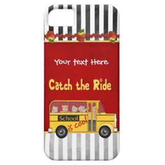 La escuela es autobús escolar fresco iPhone 5 carcasas
