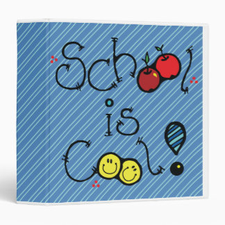 """la escuela es cuaderno azul fresco carpeta 1 1/2"""""""