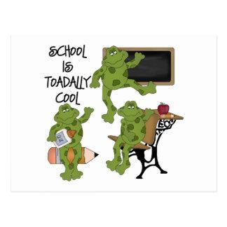 La escuela es Toadally fresco Postales