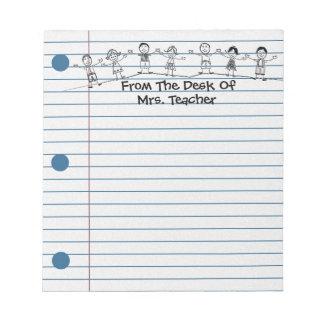La escuela linda embroma el ejemplo para la libret libreta para notas