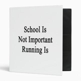 La escuela no es funcionamiento importante es