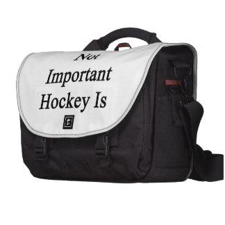 La escuela no es hockey importante es bolsa para ordenador