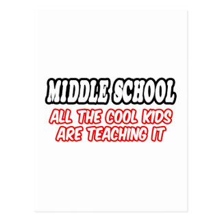 La escuela secundaria… todos los niños frescos le postal