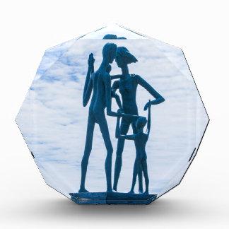 La escultura de la familia