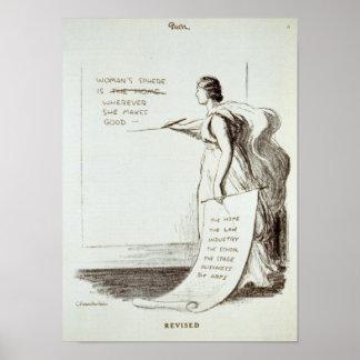 La esfera de las mujeres revisada póster