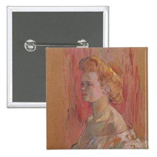 La esfinge, 1898 pin cuadrado