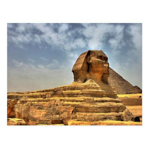 La esfinge de Egipto Postal