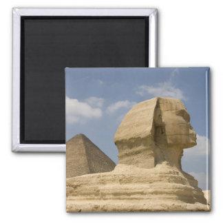 La esfinge, Giza, Al Jizah, Egipto Imán Cuadrado