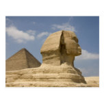 La esfinge, Giza, Al Jizah, Egipto Postales
