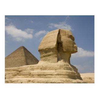 La esfinge, Giza, Al Jizah, Egipto Tarjetas Postales