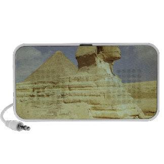 La esfinge y la gran pirámide de Khufu Mini Altavoz