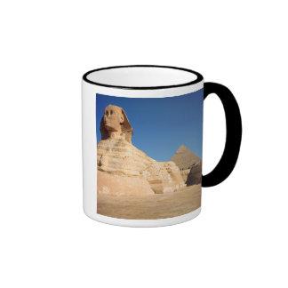 La esfinge y la pirámide de Khafre Giza Taza De Café
