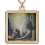 La esfinge y la quimera, 1906 (aceite en lona) collares personalizados