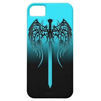 La espada con las alas refresca el diseño tribal funda para iPhone SE/5/5s