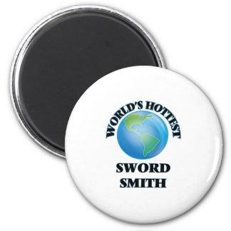 La espada más caliente Smith del mundo Imán De Frigorífico