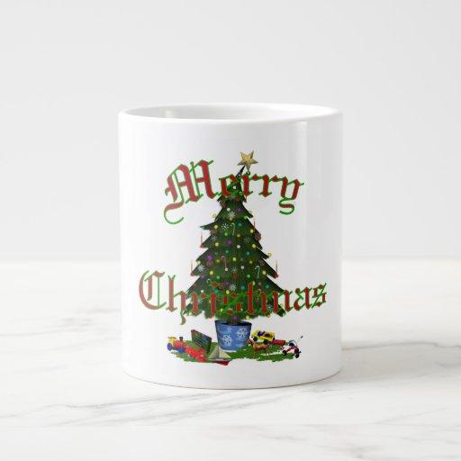 La especialidad del árbol de navidad asalta (3) es taza de café grande