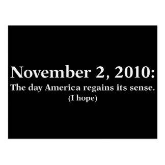 La esperanza 2010 del día de elección I América Postales