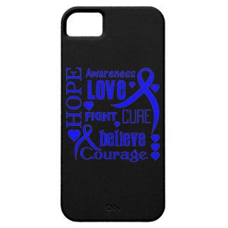 La esperanza Ankylosing de Spondylitis redacta el iPhone 5 Case-Mate Protectores