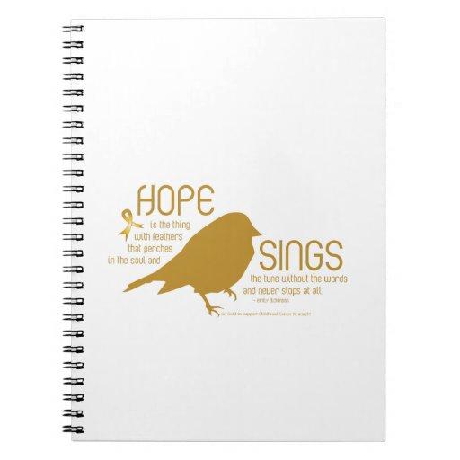 La esperanza canta el oro libros de apuntes
