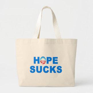 La esperanza chupa a Obama Bolsa Lienzo