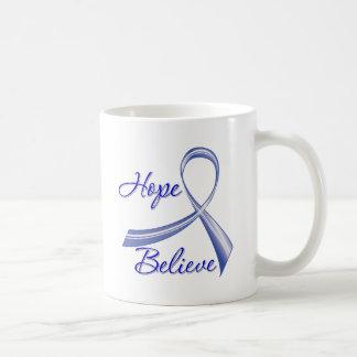 La esperanza cree al cáncer anal de la cinta del c taza de café