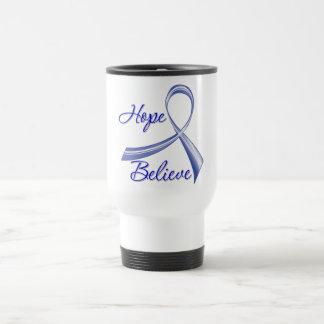 La esperanza cree al cáncer anal de la cinta del c tazas de café