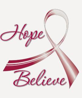 La esperanza cree el cáncer de cabeza y cuello poleras