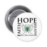 La esperanza cree la fe - cáncer de hígado pins