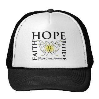 La esperanza cree la fe - cáncer de vejiga gorro de camionero