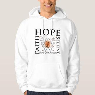 La esperanza cree la fe - cáncer del riñón (el sudadera