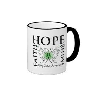 La esperanza cree la fe - cáncer del riñón (el taza a dos colores