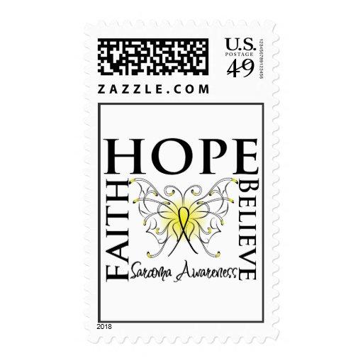 La esperanza cree la fe - cáncer del sarcoma