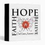 La esperanza cree la fe - cáncer oral