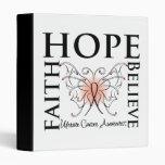 La esperanza cree la fe - cáncer uterino