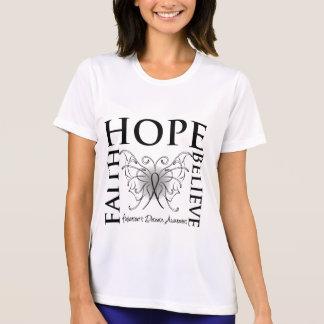 La esperanza cree la fe - enfermedad de Parkinsons Camisetas