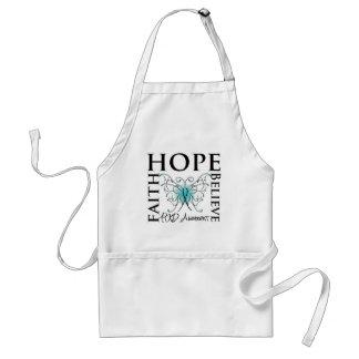 La esperanza cree la fe - enfermedad de riñón poli delantal