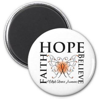 La esperanza cree la fe - esclerosis múltiple imán de nevera