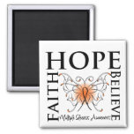 La esperanza cree la fe - esclerosis múltiple imanes de nevera
