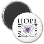 La esperanza cree la fe - Fibromyalgia Imán Para Frigorífico