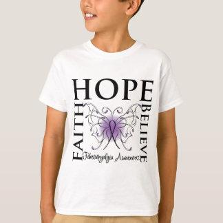 La esperanza cree la fe - Fibromyalgia Remera
