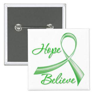 La esperanza cree la lesión cerebral traumática pin cuadrado