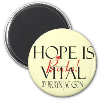 La esperanza de J Brryn es vital Imán Redondo 5 Cm