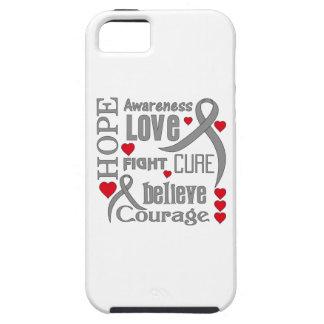La esperanza de la diabetes redacta el collage iPhone 5 funda