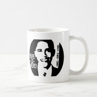 La esperanza de Obama está aquí el engranaje 2009 Tazas De Café