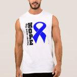 La esperanza del cáncer de colon nunca da para arr camiseta